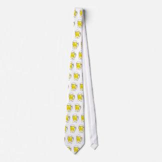 Bier-Tassen-St Patrick Tagesfeier-Krawatte Bedruckte Krawatten