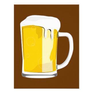 Bier-Tasseneinladung Individuelle Einladungen