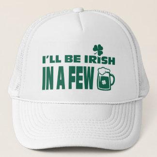 Bier-Thema-Spaß-St Patrick Tageshüte Truckerkappe
