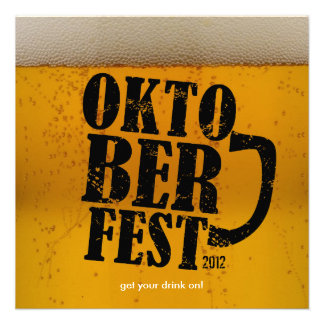 Bier themenorientiertes Oktoberfest 2012 lädt ein Ankündigung