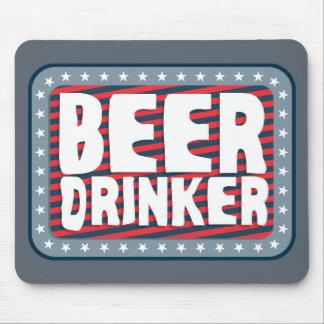 Bier-Trinker 2 Mousepads
