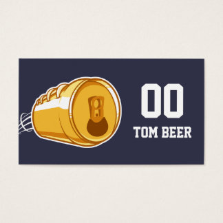 Bier u. Fußball Visitenkarte