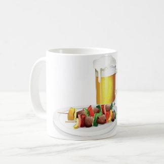 Bier und Grill-Tasse Kaffeetasse
