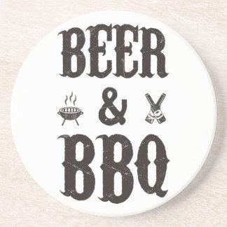 Bier und GRILLEN Getränke Untersetzer
