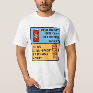 Bier und Speck T-Shirt