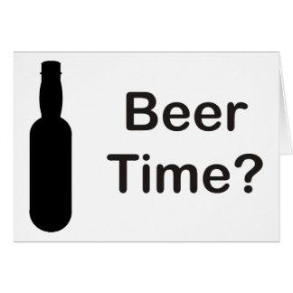 Bier-Zeit? Karte