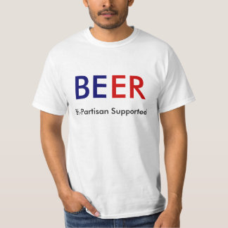 Bier: Zwei Parteien zugehöriges gestützt T-Shirt