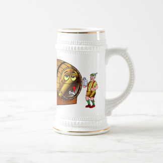 Bierfaß Bierglas