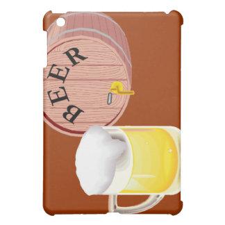 Bierfaß und Bier Stein Hülle Für iPad Mini