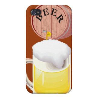 Bierfaß und Bier Stein iPhone 4 Hüllen