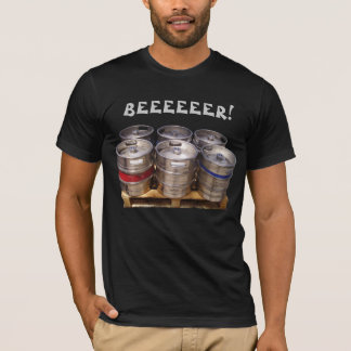 Bierfässer lustig T-Shirt