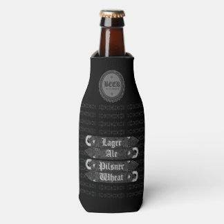 Bierflasche-Kappe/Flaschen-Öffner grau/Weiß 2 Flaschenkühler