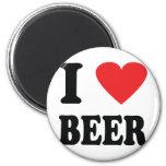 Bierikone der Liebe I Runder Magnet 5,7 Cm