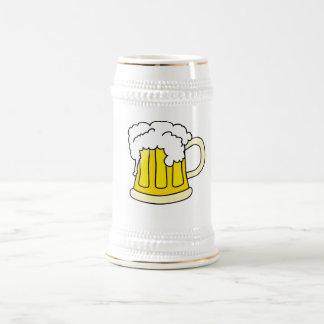 Bierkrug mit Bier Bierglas