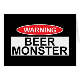 Biermonster Karte
