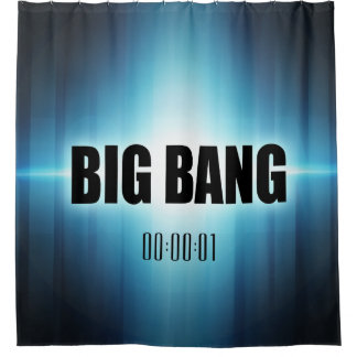 Big Bang Duschvorhang
