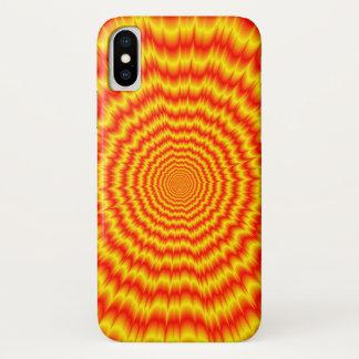 Big Bang im Rot und im Gelb iPhone X Hülle