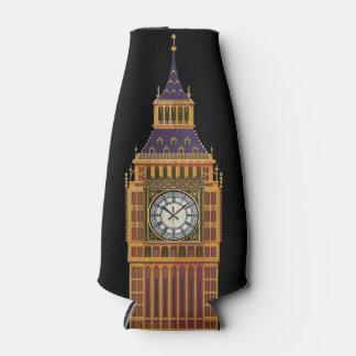 Big Ben/englische Flaggen-Flasche cooler Flaschenkühler