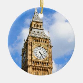 Big Ben in London, Großbritannien Keramik Ornament