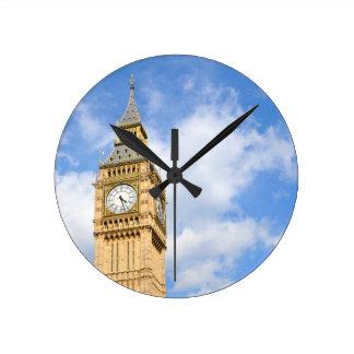 Big Ben in London, Großbritannien Runde Wanduhr