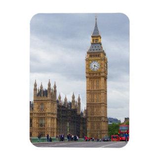 Big Ben, London Eckige Magnete