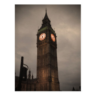 Big Ben, London Postkarte