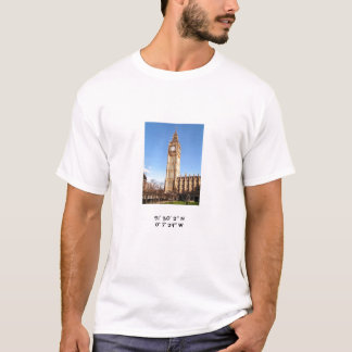 Big Ben mit Koordinaten T-Shirt