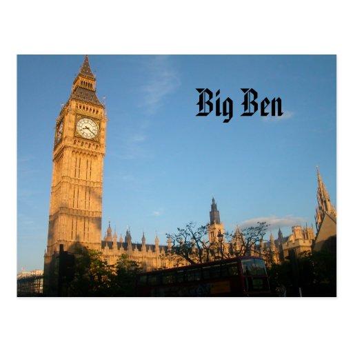 Big Ben-Postkarte