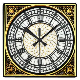 Big Ben-Uhr Quadratische Wanduhr