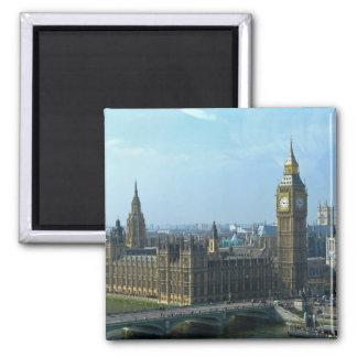 Big Ben und die Häuser des Parlaments London Kühlschrankmagnet