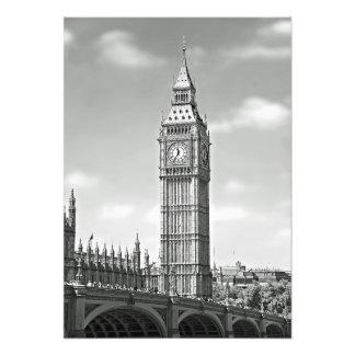 Big Ben und die Westminster-Brücke Fotodruck