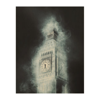 Big Ben, Westminster-Palast, London England Holzwanddeko