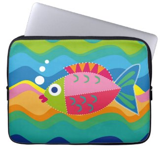 Big Fish 13 Zoll Neopren Laptop Schutzhülle Computer Sleeves