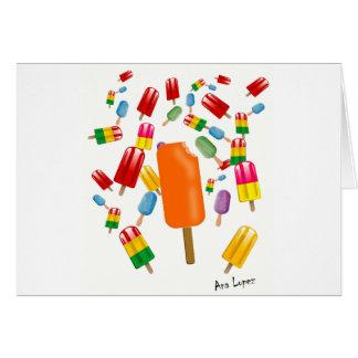 Big Popsicle Chaos by Ana Lopez Karte