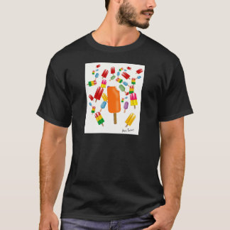 Big Popsicle Chaos by Ana Lopez T-Shirt