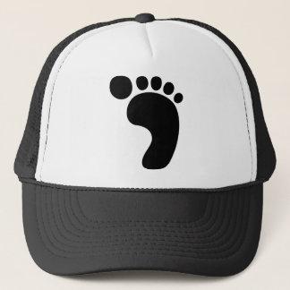 Bigfoot-Abdruck Sasquatch Truckerkappe
