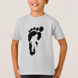 Bigfoot-Abdruck T-Shirt