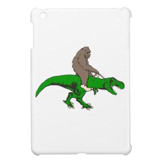Bigfoot, der T Rex reitet iPad Mini Hülle