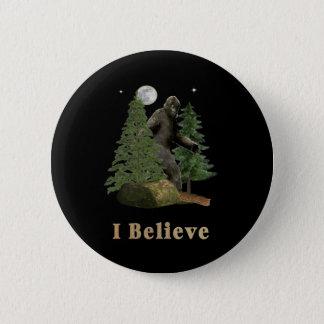 Bigfoot-Einzelteile Runder Button 5,7 Cm