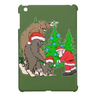 Bigfoot-Familie und Sankt iPad Mini Hülle