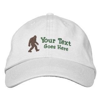 Bigfoot gegangenes Squatchin kundengerecht Bestickte Baseballkappe