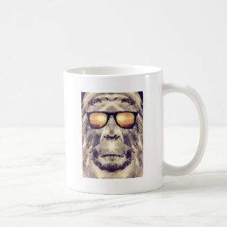 Bigfoot in den Schatten Kaffeetasse