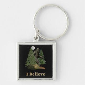 Bigfoot-Kunst Schlüsselanhänger