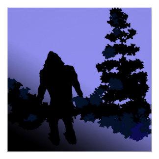 Bigfoot-Land Poster