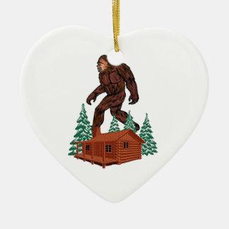 Bigfoot-Paradies Keramik Ornament
