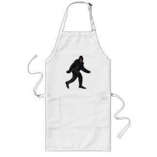 Bigfoot Sasquatch Yetti Lange Schürze
