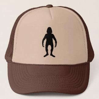 Bigfoot-Silhouette - Hut Truckerkappe