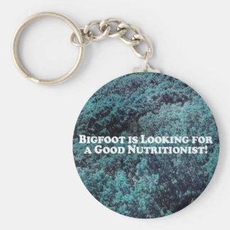 Bigfoot sucht einen guten grundlegenden schlüsselanhänger