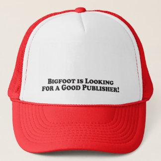 Bigfoot sucht einen guten grundlegenden Verleger - Truckerkappe