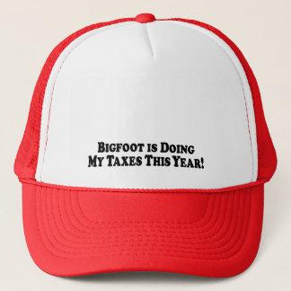 Bigfoot tut meine grundlegenden Steuern - Truckerkappe